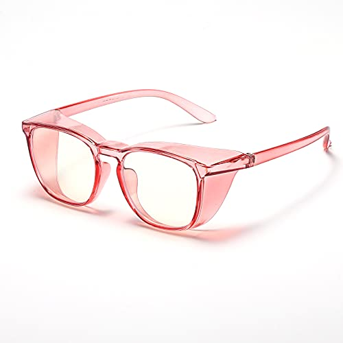 Anti Fog Safety Goggles for Women Men, Stylish Safety Glasses with HD and Anti-Blue Light Lens,Great Alternative to Eye Protection for Nurse.
