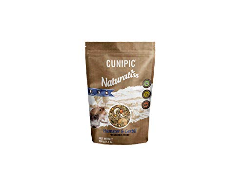 CUNIPIC Naturaliss Hamster Y Jerbo 500 G 500 g