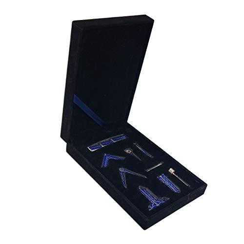 Masonic Blue Lodge Freemason Working Tools Set in Box Accessories