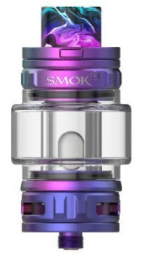 TFV18 Tank 7.5ML Atomizador de cigarrillo electrónico Fit TFV18 Mesh Dual Mesh RBA Coil Vaporizador para Morph 2 MOD Vaping (Arco iris)
