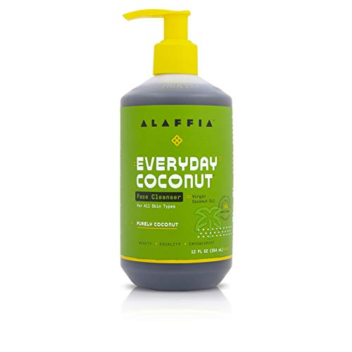 Alaffia EveryDay Coconut Face Cleanser. For All Skin Types. Leaves Skin Fresh, and Hydrated with...
