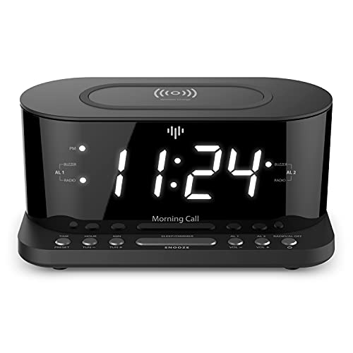 iLuv Bedside Digital Alarm Clock Dock