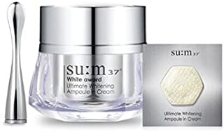Korean Cosmetics_LG Su:m 37 White Award Ultimate Whitening Ampoule in Cream_45g[行輸入品]