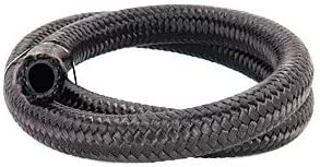 Torque Solution Nylon Very popular Braided Rubber shipfree Hose: 10ft ID -8AN 0.44