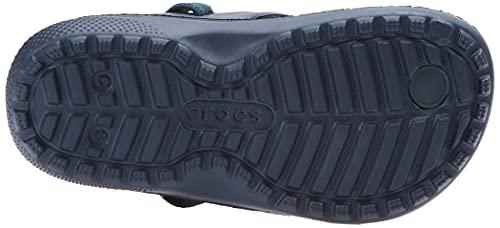 Crocs Classic Flip K Unisex Niños Chanclas, Azul (Navy), 32/33 EU