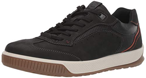 ECCO Men's Byway Tred Low-Top Sneakers(WITHOUT GORETEX) Black (Black/Black 51052),9 UK