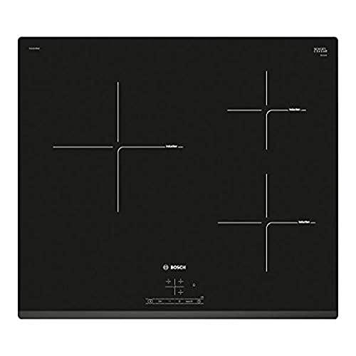 Bosch PUC631BB2E Série | 4 Plaque à induction 3 zones de cuisson Noir 60 cm
