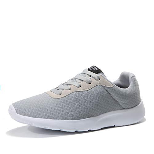 Qianliuk Männer Laufen Schuhe Mesh athletische Trainer Walking Jogging Schuh-Sneakers Outdoor-Sportschuhe für Männer