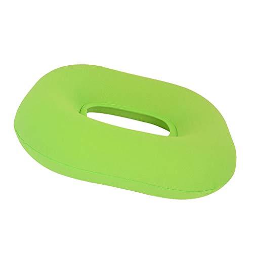 Sharplace Soulagement Gonflable De Douleur D'hémorroïde De Coussin De Siège Gonflable De Beignet - Vert