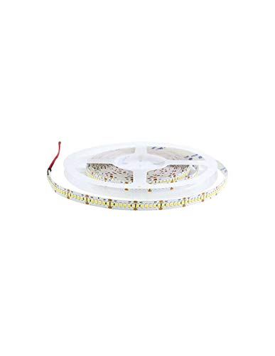 Ruban LED Blanc 24V haute luminosité 120 LED/m 19,6W/m - Blanc Chaud 3000K - 5m