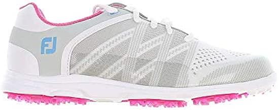 FootJoy New Womens Golf Shoe FJ Sport SL Medium 6.5 White/Grey/Pink