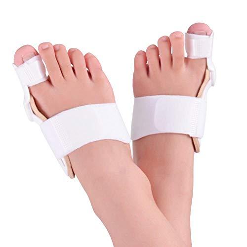 Tatapai Férulas para Juanetes 2 Pcs Toe Separator 24 HorasOrthotics ECorrector ProAjustable Big Toe Feet Care