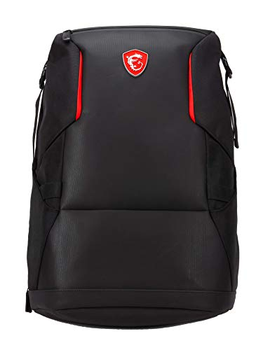MSI Urban Raider Gaming Laptop Backpack, Quick Access, Padded Mesh,...