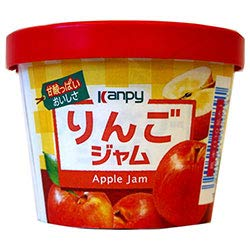 カンピー 紙カップ りんごジャム 140g×6個入×(2ケース)