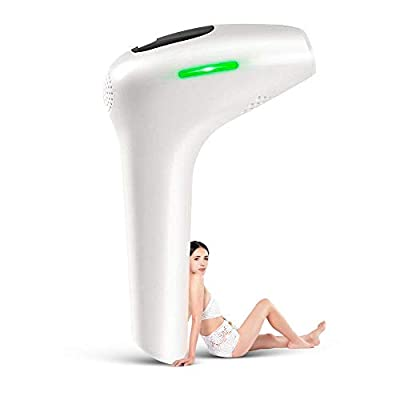 InLoveArts IPL Permanent Hair Removal System, Professional Painless Laser for Women & Men 500,000 Flashes Electric Facial Body Hair Remover Device Use at Home Anytime