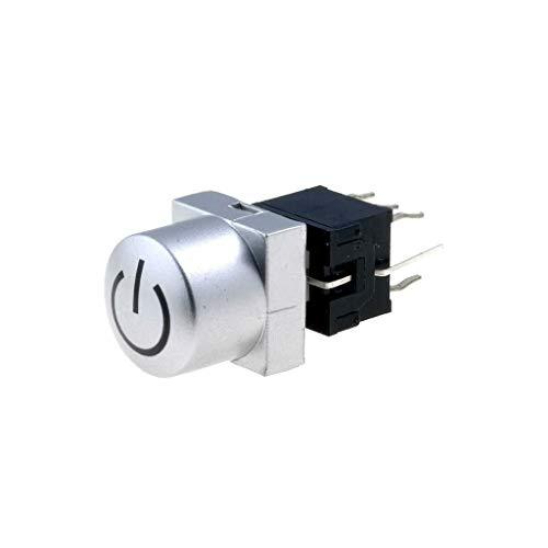 PB61302AL-4-101 Switch: keypad Pos: 2 DPDT 0.1A/30VDC silver Illumin: LED blue H
