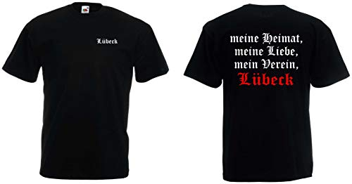 world-of-shirt Herren T-Shirt Lübeck Ultras Meine Heimat