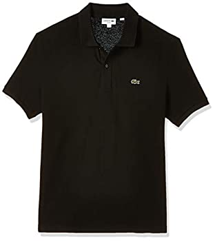 Lacoste Men s Classic Pique Slim Fit Short Sleeve Polo Shirt Black Small
