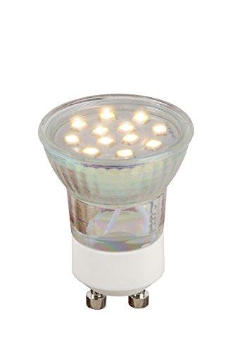 Lucide LED BULB GU10 - Led Lampe - Ø 3,5 cm - LED - GU10 - 1x2W 2700K - Transparent