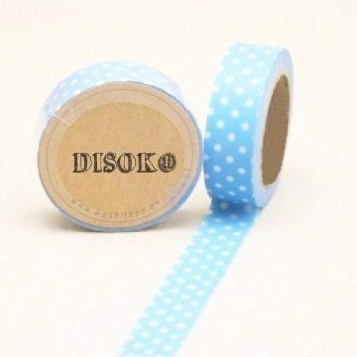 disok–Nastro adesivo Washi Tape 15mm x 10metri ds-117