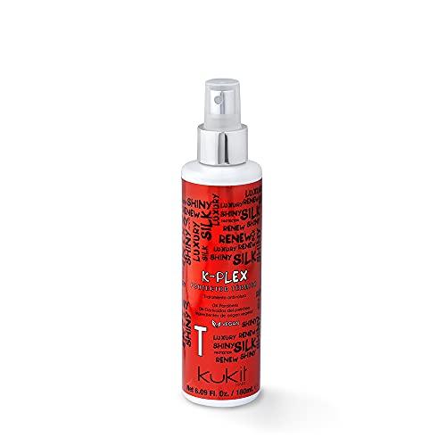 Kukit Hair - K-Plex T | Protector Térmico Anti-Rotura con Plex | Protector Térmico para Plancha y Secador de Reparación Profunda Antirotura Capilar | 180 ml