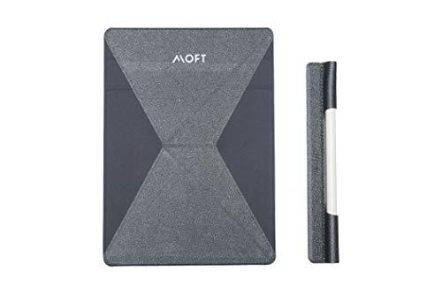 【正規代理店】10%特割 MOFT X iPadスタンド タブレットスタンド 7.9インチ 9.7インチ/10.2インチ/10.5インチ/12.9インチに対応 極薄 超軽量 折りたたみ 角度調整可能 収納便利 持ち運び便利 グレー (9.7~13インチ, 【5%OFF】+ペンシルホルダー)