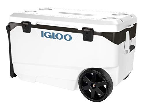 Igloo Marine Flip and Tow - White, 90 qt Roller