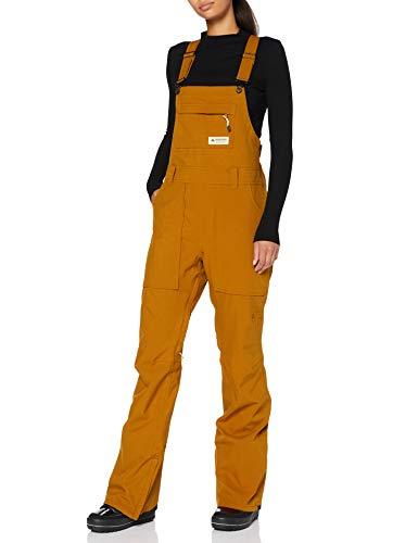 Burton Avalon Bib Pantalon de Snowboard, Mujer, True Penny, XS