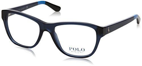 Ralph Lauren Damen 0PH2148 Brillengestell, blau (Shiny Cristal Blue), 62