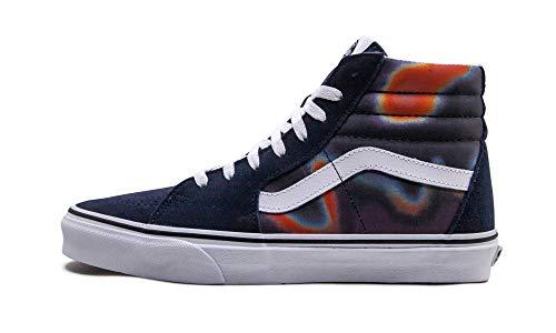 Vans Sk8-Hi (Dark Aura) Multi/True White Fashion Sneaker Shoes Men's 9.5 / Women's 11