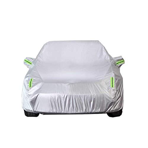 GYPPG Cubiertas para Autos compatibles con Mercedes-Benz Serie ML Cubiertas Exteriores Completas Transpirables Resistentes al Agua Láminas de protección contra el Hielo Parabrisas de automóviles p