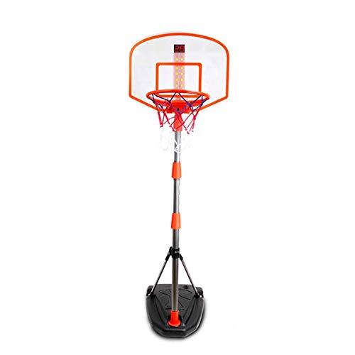 GHqY Aro De Baloncesto Portátil con Función De Puntuación, Soporte De Baloncesto De Baloncesto para Niños Ajustable En Altura, Soporte De Baloncesto Portátil para Niños Interiores Y Exteriores