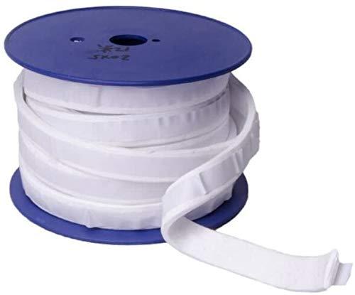 YJINGRUI 10 Meter Länge Teflon Artikel Schwamm Gürtel Dichtungsband Klebeband Erweitert PTFE Fugenmasse e-ptfe Streifen Elastische Schlaufen (7 mmx3 mmx10 m)