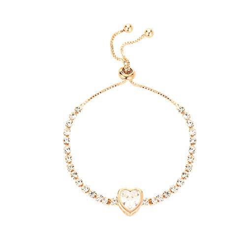 Dairxu Armband Edelstahl Link Armband Silber Tone Weißgold Armband Partner Armband,Paar Armband (Onesize, C)