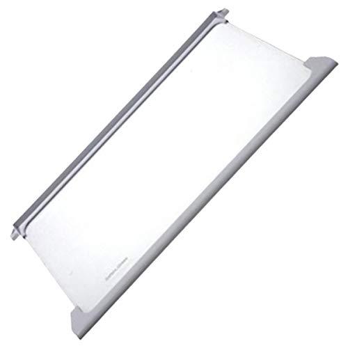 Bandeja de cristal con marco para frigorífico de la marca Beko, Número de pieza original: 4617920500.