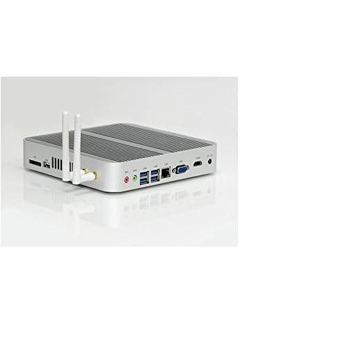 HSIPC Skylake i5 6200U Mini Box PC,Fanless PC,HTPC with 8G RAM 128G