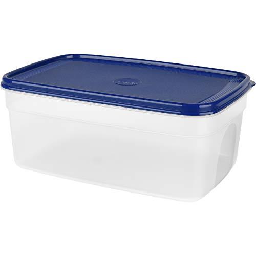 Emsa Frischhaltedose SUPERLINE, 4,5 Liter, rechteckig, blau, Plastik, 4,5 L
