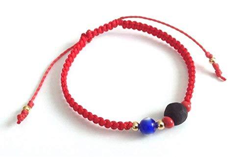 Red String Protection Bracelet Evil Eye Genuine Azabache Pulsera para el Mal de Ojo