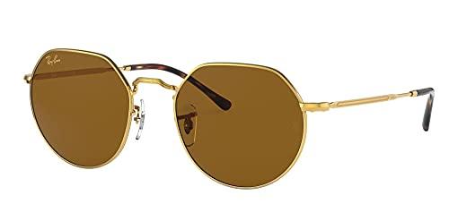 Ray-Ban 0rb3565-919633-51, Gafas Hombre, Color Dorado