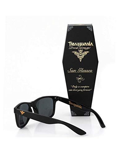 Transylvania Gafas de sol polarizadas Dracula para hombre y mujer, estilo retro