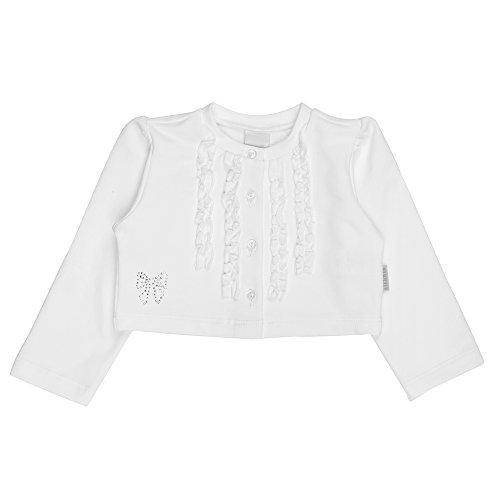 STUMMER Celebration baby meisjes gebreide jas, wit