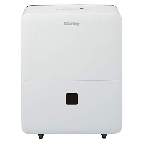 Danby DDR030BJWDB 30 Pint Dehumidifier for Bedroom, Basement, Living Room, White