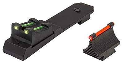 TRUGLO Rimfire Fiber Optic Sight - Ruger 10/22 Red/Green