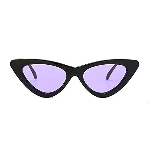 Topgrowth - Gafas de sol para mujer, estilo vintage, retro, para ojos de gato, con caramelos, de colores, gafas protectoras, P, Talla única