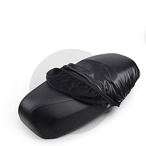 Protector de asiento flexible para motocicleta, Cubierta del asiento de la motocicleta impermeable a prueba de polvo a prueba de polvo impermeable protector solar motocicleta scooter cojín cubierta de