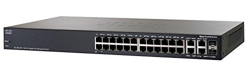 Cisco Small Business SG300-28PP Management L3 Gigabit Ethernet (10/100/1000) schwarz Unterstützung Power over Ethernet (PoE)