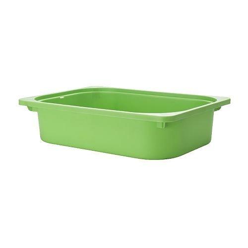 Ikea Trofast Toy Storage Box, Green, Medium