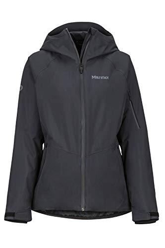 Marmot Damen Wm's Refuge Hardshell Ski- Und Snowboard Jacke, Winddicht, Wasserdicht, Atmungsaktiv, Black, M