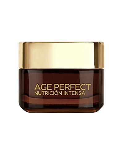 L'Oreal Paris Age Perfect Nutrición Intensa - Crema Rica Reparadora de Día para Pieles Maduras y Desnutridas - 50 ml