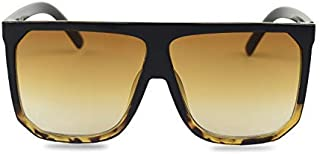 MAX & MILLER Women's Oversized Flat Top Sunglasses THE COMMODORE